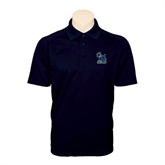 Navy Dry Mesh Polo-Official Logo
