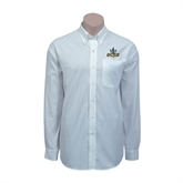 Red House White Long Sleeve Shirt-UCSD w/Trident