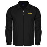 Full Zip Black Wind Jacket-UC San Diego Tritons Mark