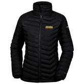Columbia Powder Lite Ladies Black Jacket-UC San Diego Tritons Mark