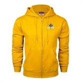 Champion Gold Fleece Full Zip Hood-UCSD w/Trident