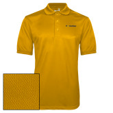 Gold Dry Mesh Polo-UC San Diego Primary Mark