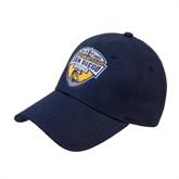 Navy Heavyweight Twill Pro Style Hat-UC San Diego Crest