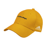 Adidas Gold Structured Adjustable Hat-UC San Diego Primary Mark