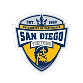 Small Magnet-UC San Diego Crest, 6 inches tall