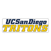 Large Magnet-UC San Diego Tritons Mark, 12 inches wide