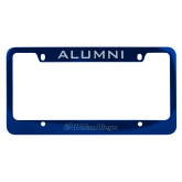 Alumni Metal Blue License Plate Frame-UC San Diego Primary Mark Engraved