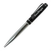 Allegro Black Twist Pen-UC San Diego Engraved