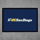 Full Color Indoor Floor Mat-UC San Diego Primary Mark