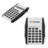 White Flip Cover Calculator-UC San Diego Primary Mark