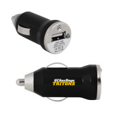 On the Go Black Car Charger-UC San Diego Tritons Mark