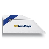 Angled Blue Stripe Letter Opener-UC San Diego
