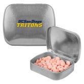 Silver Rectangular Peppermint Tin-UC San Diego Tritons Mark