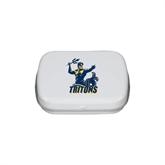 White Rectangular Peppermint Tin-Official Logo