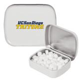White Rectangular Peppermint Tin-UC San Diego Tritons Mark