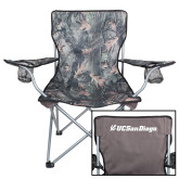 Hunt Valley Camo Captains Chair-UC San Diego Primary Mark