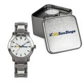 Mens Stainless Steel Fashion Watch-UC San Diego Primary Mark
