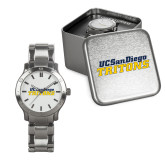 Mens Stainless Steel Fashion Watch-UC San Diego Tritons Mark