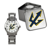 Mens Stainless Steel Fashion Watch-Trident Head