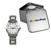 Ladies Stainless Steel Fashion Watch-UC San Diego Primary Mark