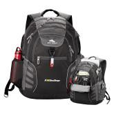 High Sierra Big Wig Black Compu Backpack-UC San Diego Primary Mark