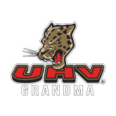 Small Decal-UHV Grandma, 6 inches wide