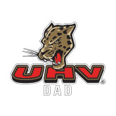 Dad Decal-UHV Dad, 6 inches wide
