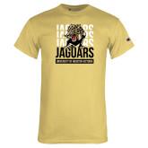 Champion Vegas Gold T Shirt-Jaguars Graphic
