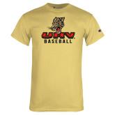 Champion Vegas Gold T Shirt-UHV Baseball