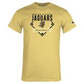Champion Vegas Gold T Shirt-Jaguars Baseball