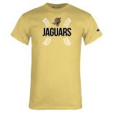 Champion Vegas Gold T Shirt-Jaguars Ball Stitches
