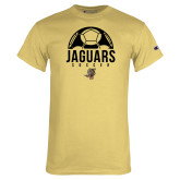 Champion Vegas Gold T Shirt-Jaguars Soccer