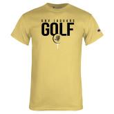 Champion Vegas Gold T Shirt-Jaguars Golf
