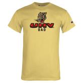 Champion Vegas Gold T Shirt-UHV Dad
