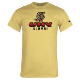 Champion Vegas Gold T Shirt-UHV Alumni