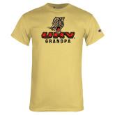 Champion Vegas Gold T Shirt-UHV Grandpa