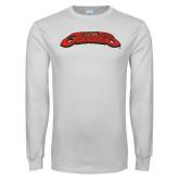 White Long Sleeve T Shirt-UHV Jaguars