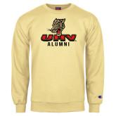 Champion Vegas Gold Fleece Crew-UHV Alumni