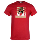 Red T Shirt-Jaguars Graphic