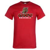 Red T Shirt-UHV Baseball