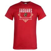 Red T Shirt-Jaguars Baseball
