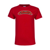 Youth Red T Shirt-UHV Jaguars