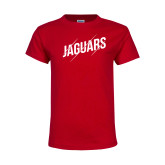 Youth Red T Shirt-Jaguars