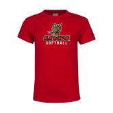 Youth Red T Shirt-UHV Softball