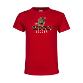 Youth Red T Shirt-UHV Soccer