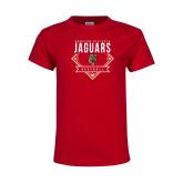Youth Red T Shirt-Jaguars Baseball