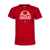 Youth Red T Shirt-Jaguars Soccer