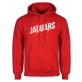 Red Fleece Hoodie-Jaguars