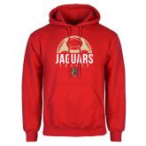 Red Fleece Hoodie-Jaguars Soccer