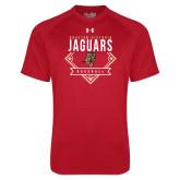 Under Armour Red Tech Tee-Jaguars Baseball